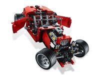 LEGO Technic 8070 - B-Modell Türen geöffnet