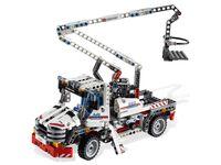 LEGO Technic 8071 - A-Modell Stützen ausgefahren