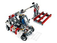 LEGO Technic 8071 - B-Modell mit Kran und Palette