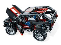 LEGO Technic 8081 - A-Modell Motorhaube und Türen offen