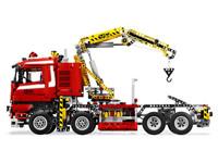 LEGO Technic 8258 - A-Modell Seitenansicht links