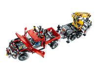 LEGO Technic 8258 - B-Modell Türen und Motorhaube geöffnet
