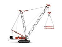 LEGO Technic 8288 - A-Modell Seitenansicht rechts