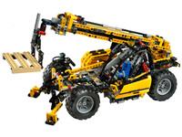 LEGO Technic 8295 - A-Modell mit Kran und Palette