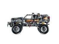LEGO Technic 8297 - A-Modell Seitenansicht links