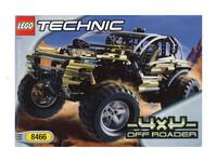 LEGO Technic 8466 - Umschlag Bauplan