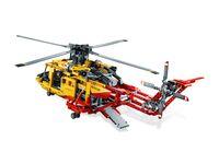 LEGO Technic 9396 - A-Modell Ladeluke offen