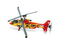 LEGO Technic 9396 - B-Modell Aufsicht