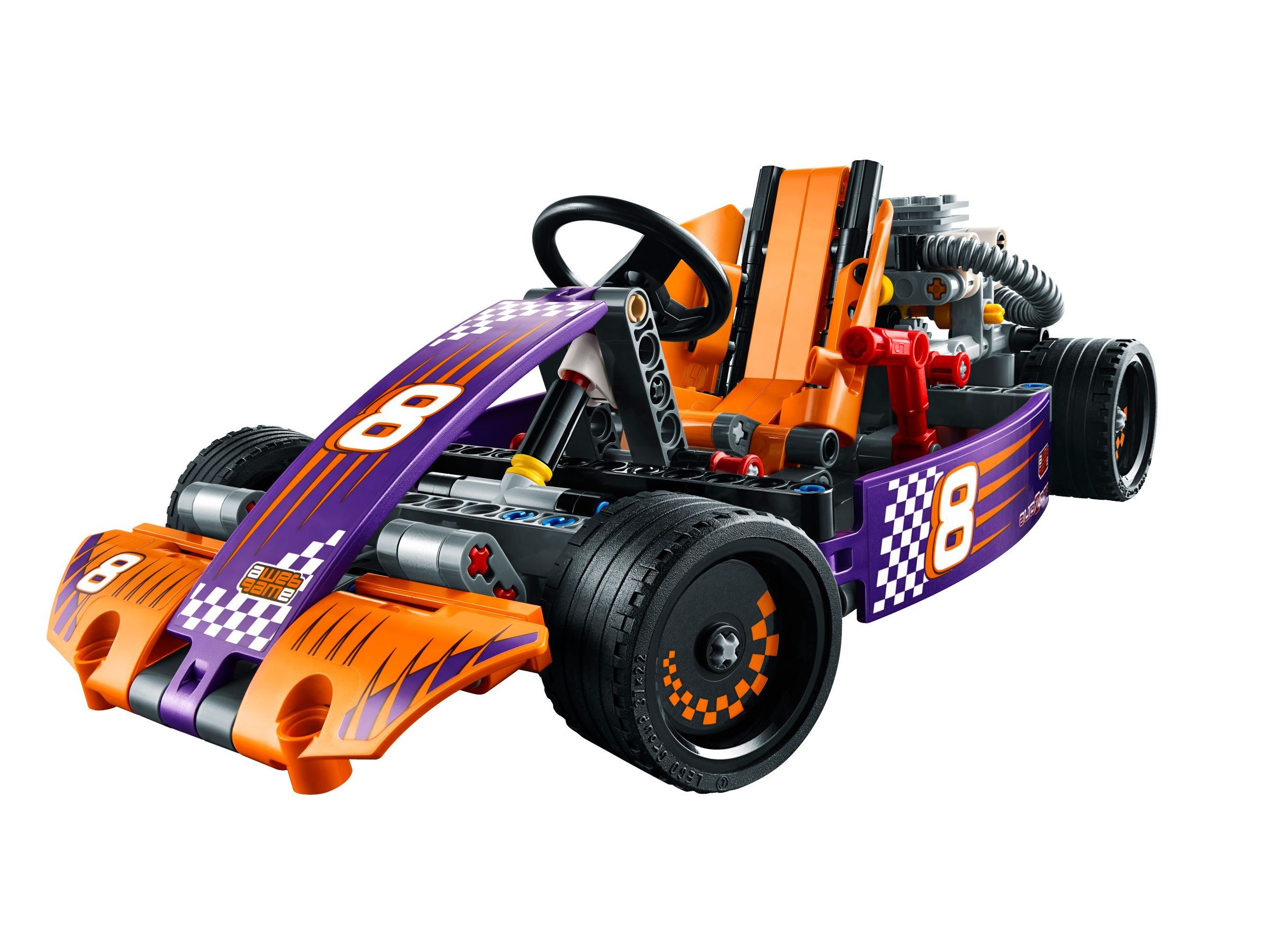 lego technic 42048 renn kart. Black Bedroom Furniture Sets. Home Design Ideas