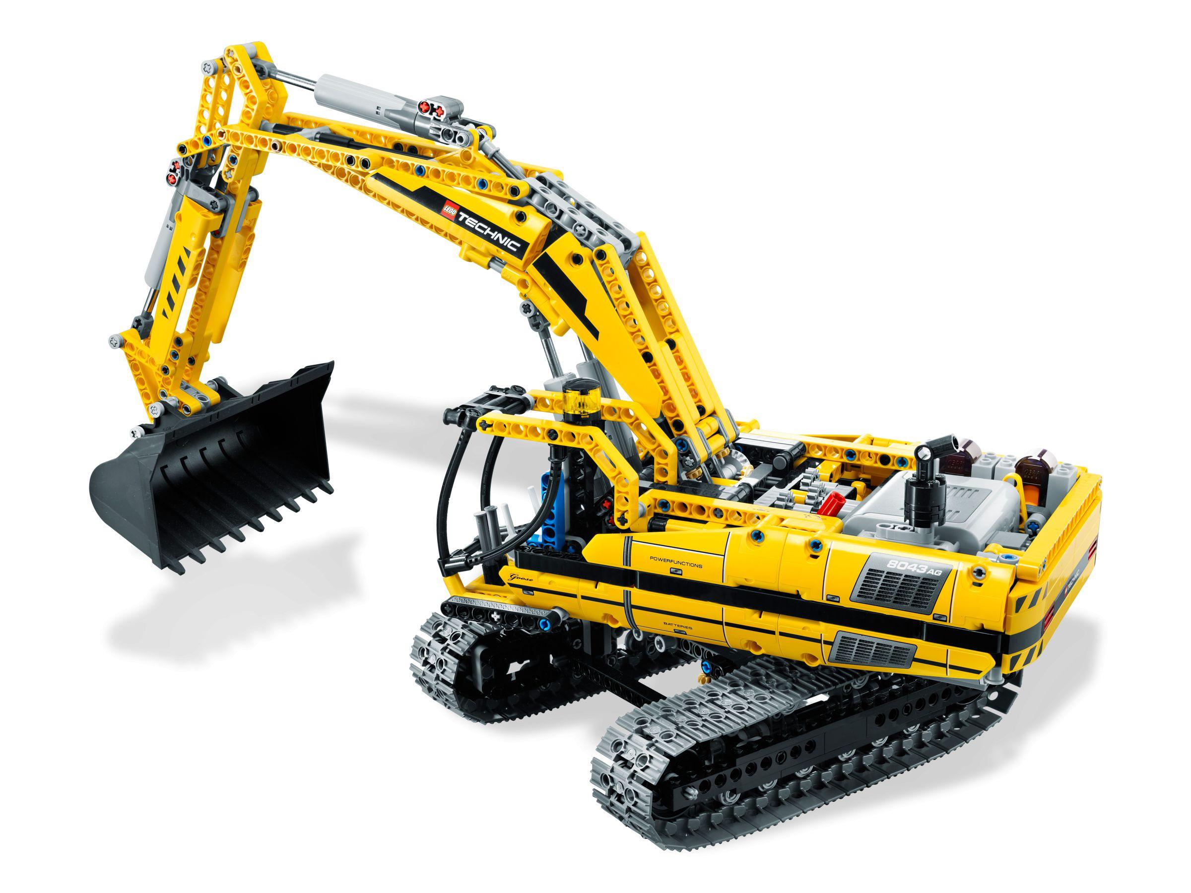 lego technic 8043 motorisierter raupenbagger. Black Bedroom Furniture Sets. Home Design Ideas