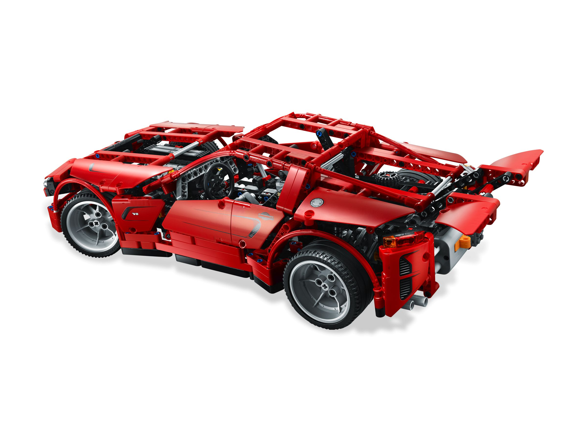 lego technic 8070 super car. Black Bedroom Furniture Sets. Home Design Ideas