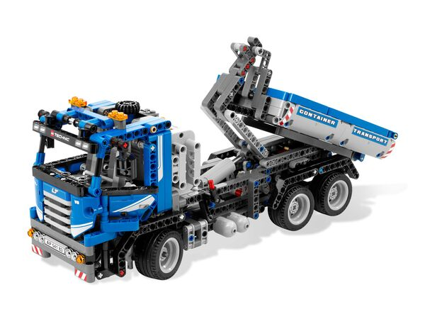lego technic 8052 container truck. Black Bedroom Furniture Sets. Home Design Ideas